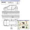 Контрольная карта для промеров кузова автомобиля Hyunday