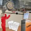 Измерение шасси автомобиля линейкой Autorobot 300